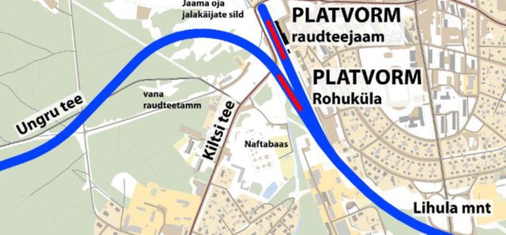 """Teemaplaneering """"Riisipere-Haapsalu-Rohuküla raudteetrassi koridori asukoha määramine"""""""