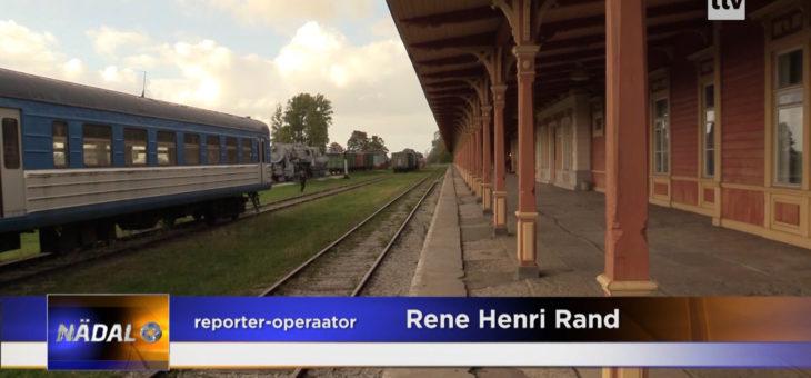 TTV VIDEO: Haapsalu raudteejaamas oodati laupäeval taas rongi
