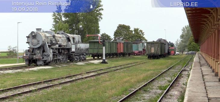 VIDEO: Millised on olnud edasi minekud Riisipere-Turba raudteelõigu taastamisega?
