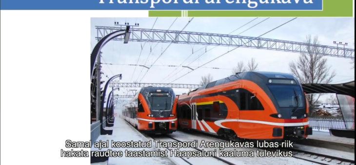 Haapsalu raudtee taastamise toetajad