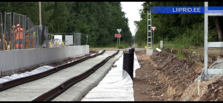LIIPRID.ee VIDEO | Raudteerööpad jõudsid Turbasse