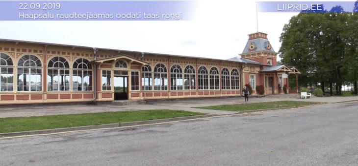 LIIPRID.ee VIDEO | Haapsalu raudteejaamas oodati pühapäeval taas rongi