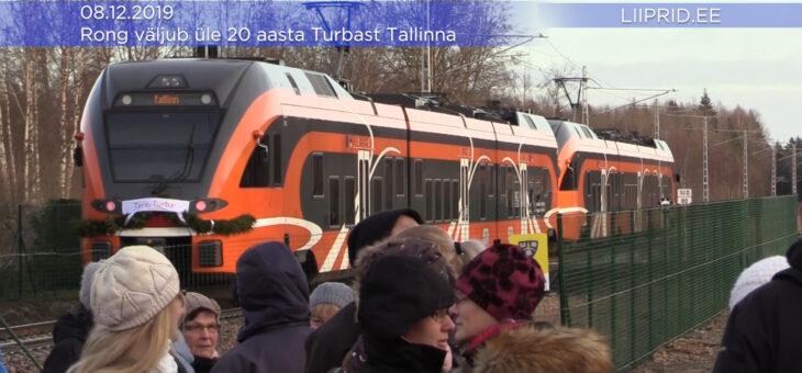 LIIPRID.EE VIDEO | Rong väljus üle 20 aasta taas Turbast Tallinna!